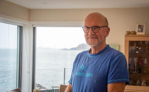 Utsikt: Nærheten til sjøen gjorde at Ingvar Børve bestemte seg for å flytte til det nye boligfeltet på Grødem.
