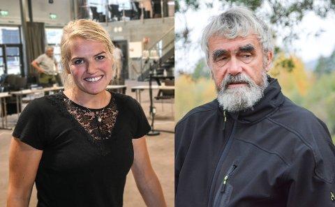 KRITISKE: Gøril Ødegård og Gustav Kalager er svært kritiske til måten oppvekstsjef Børre Jensen og administrasjonen har opptrådt i skolesaken i Krødsherad.