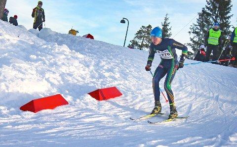 Jakob Odland - her under Oslo Skifestival i Holmenkollen i fjor. 7. februar får han ein ny sjanse til å konkurrera i Holmenkollen, denne gongen på Agder og Rogaland skikrets sitt lag i Ungdomsstafetten.