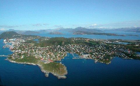 Florø: flyfoto av Linda Nødseth.