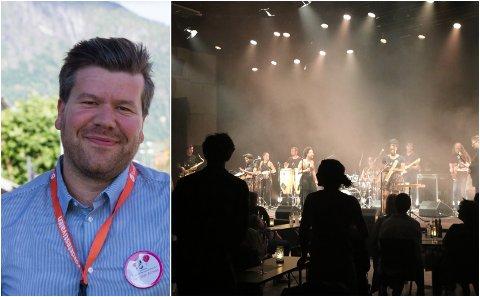 FØRDEFESTIVALEN: Festivalsjefen Per Idar Almås er nøgd med årets Førdefestival