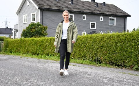 TAR DET MED SMIL:Sesongen er over for Gjerpens Dortge Groa som tar det med et smil. Søndag blir hun tilskuer i Kongstenhalløen.