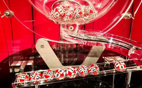 GULLREKKA: To spillere hadde syv rette i Lotto lørdag kveld. (Foto: Norsk Tipping)