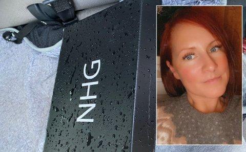 I løpet av fire dager har Silje Haugen opplevd å finne to pakker liggende i gata der hun bor.