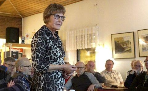 PLAGET: Birgit Marskar Larsen og mannen Oddleif mistet sønnen Arne Mikael i Vassdalenraset 5. mars 1986. Her fotografert i Sjømannskirka, i forbindelse med at redningsmannskaper for første gang fortalte sine historier.