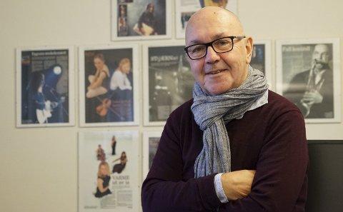 Bevare historien: Jan Erik Teigen har skrevet historien til det som var Nordnorsk fredssenter, i håp om å bevare den for ettertida.