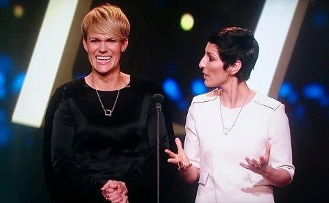 POPULÆRE: Sigrid Bonde Tusvik og Lisa Tønne lager Norges mest populære podkast – «Tusvik og Tønne». I mars kommer de med podkast live på Bakkenteigen.