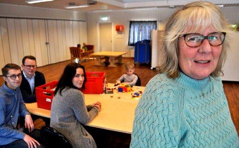 FoREGANGSBARNEHAGE: Styrer May Krüger i Trimveien Barnehage sender sine ansatte på kurs.