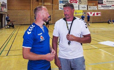 AVKAST: Onsdag starter alvoret for Falk Horten. Årets første eliteseriekamp for laget til Johnny Jensen og Rune Skytøen spilles borte mot Drammen.