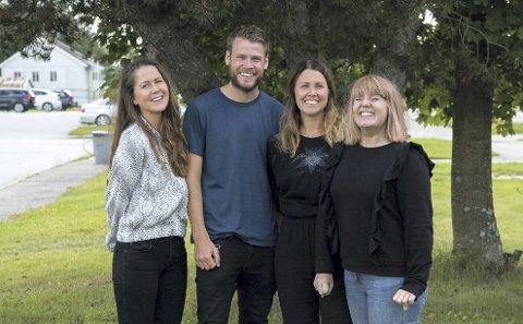 Egen bedrift: Berga Thorgrimsdottir, Mats Sparby, Hanne Kure Bjugstad og Liv Rønnaug B. Lilleåsen har startet FAUN media, og er klare for å hjelpe bedrifter og kommuner med blant annet sosiale medier, brosjyrer, video.