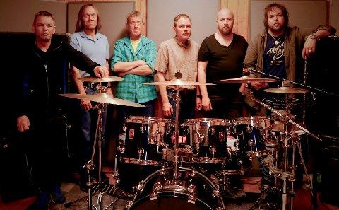 G-35 på BB LYDVERKET: Bandet består av Andre' Mortensen, Bjørn Lillevolden, Håkon Wiegaard, Helge Stensgård, Odd-Egil Mortensen og Stig Lognseth.