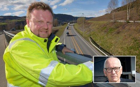 - Prosjektdirektør Øyvind Moshagen i Nye Veier har vært kapteinen på utbyggings-laget som tirsdag åpner 12 kilometer ny E6. Neste år er vegen ferdig fram til Moelv, og lastebilsjef Guttorm Tysnes gleder seg.