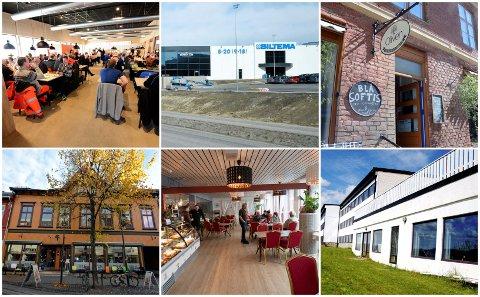 Dette er noen av spisestedene som fikk besøk av Mattilsynets kontrollører i september.