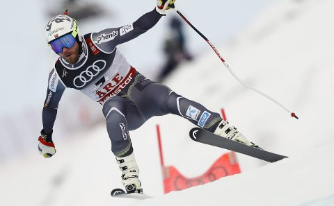 22. plass: Kjetil Jansrud beskrev sitt eget super-G-renn som rotete. 33-åringen fra Vinstra endte på 22. plass i Åre, langt bak vinnere Dominik Paris. Alle foto: NTB scanpiX