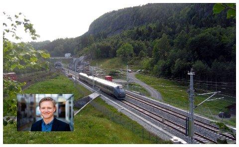 Anders Brabrand (Ap) oppfordrer andre politikere, næringsliv og innbyggere langs Dovrebanen til å engasjere seg for dobbeltspor.