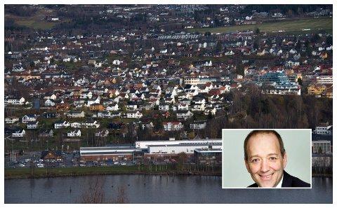 Venstre-kandidat Jo Are Aamodt Brænden har en av de første kritiske stemmene til gondolplanene det arbeides med i Lillehammer.