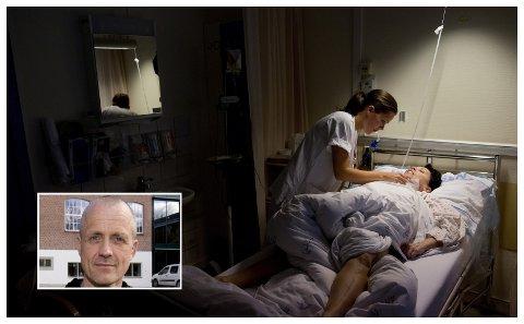 Utfordringene i omsorgsektoren er tema i Ulf Holbergs artikkel.