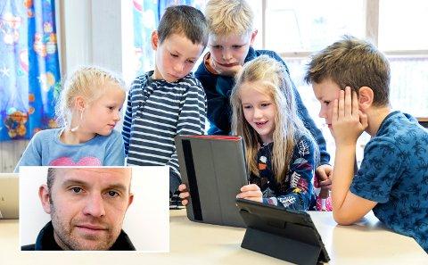 - Kunne man ikke kjøpt inn tyve iPader, hatt dem på et eget rom og gitt barna fire timer i uken med øremerket digital læring? Så kunne bruken øke eller minke i takt med hva man visste var hensiktsmessig, skriver Gaute Brochmann.