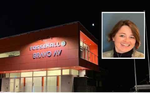 STØTTES: Rådgivningsselskapet Fossekall AS på Lillehammer har fått den største tildelingen på litt over én million kroner. Daglig leder er Vigdis Myhre Næsseth (innfelt).