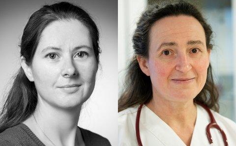 Gunnveig Grødeland (til venstre) er forsker ved avdeling for immunologi og tranfusjonsmedisin ved institutt for klinisk medisin ved Universitetet i Oslo. Anja Zanjani er fastlege i Sør-Fron.