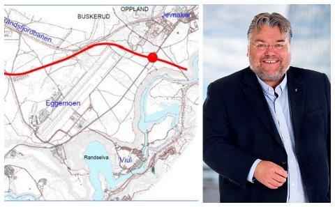 JA TIL VEI: Stortingsrepresentant Morten Wold (FrP), mener at det er Frp og Nye Veier som kan få fortgang i byggingen av ny E16 Eggemoen-Nymoen.