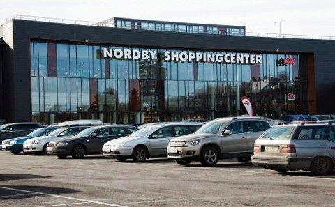 SUKKERKICK: Gottebiten på Nordby shoppingcenter er en av de aller største butikkene i den svenske kjeden. I fjor bidro butikken til et rekordår for Gottebiten.