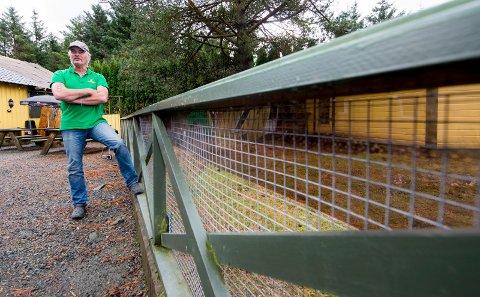 FÅR FORTSETTE: Daglig leder Bernt Kai Velde og Haugaland Zoo på Torvastad