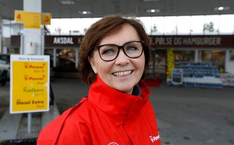 SATSER: – Vi hadde ikke startet på denne store og tunge utbygging om vi ikke hadde hatt tro på det, sier Anne Lise Sjurseike.