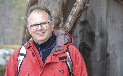 NY PRIS: I løpet av november vil styreleder Bjørn Ivar Lamo og Helgeland friluftsråd ta imot forslag på kandidater til en ny ildsjelpris.– Vi er ute etter noen som har gjort et arbeid eller har tatt inititiv som betyr noe for friluftslivet, sier Lamo.  FOTO: PRIVAT