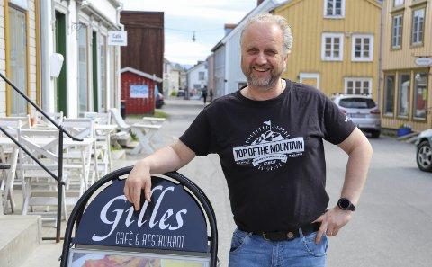 ARRANGØR: Roar Møller er primus motor for ByfestVeko. Foto: Trond Odin Johansen