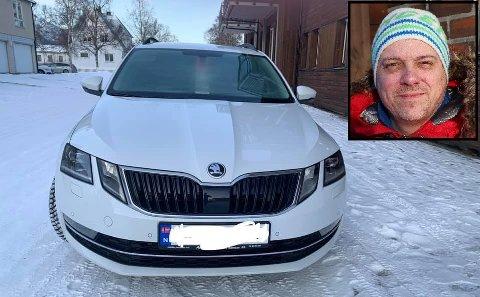 Forsvunnet: AVIS i Mosjøen savner en bil av samme type og med samme farge som den på bildet. Registeringsnummeret på bilen som er borte er XR67508.