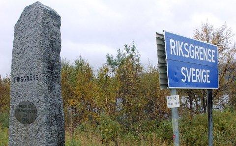 FRITT FRAM: Nå er grenseovergangene til Sverige åpnet. Her fra riksgrensen på Krutfjellet.