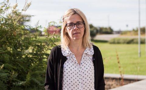 JOBBSØKER: Ida Huru er plasstillitsvalgt ved fylkeshuset i Vadsø for Fagforbundet. Huru forteller at hun nå er jobbsøker etter utviklingen av sammenslåingen mellom Troms og Finnmark.
