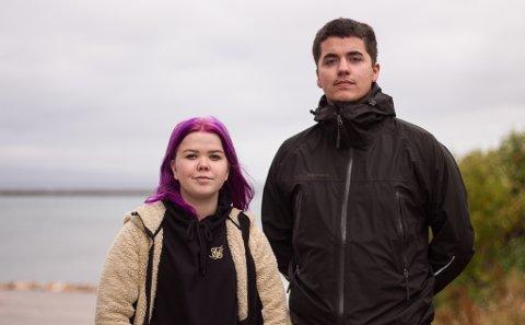 MÅ KANSKJE TA TRE DOSER: Monja Helberg Stølhaug (21) og Geir Hovard Andresen (22) fra Vadsø er blant flere som fikk en vaksinedose som kanskje ikke gir den virkningen den skal.