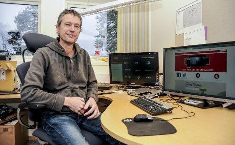 Suksess: Karl Arnfinn Wik er avdelingsleder i Kragerø Bredbånd AS.