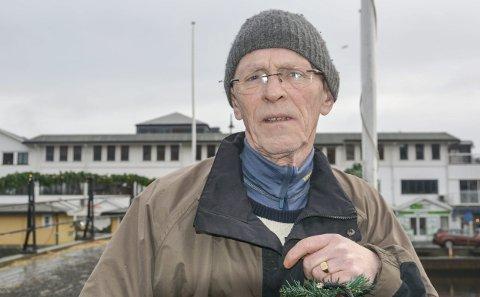 Konflikt: Norsk Folkehjelp-veteranen Tore H. Larsen har trukket seg fra alle verv i lokallaget i Kragerø.
