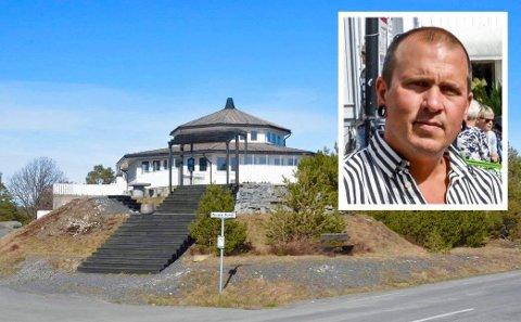 NY SESONG: Johan Karlsson ser etter statister til ny innspilling av Camp Kulinaris i Portør. De fleste statistplassene er allerede kapret. Arkivfoto: Per Eckholdt / Innfelt foto: Jimmy Åsen