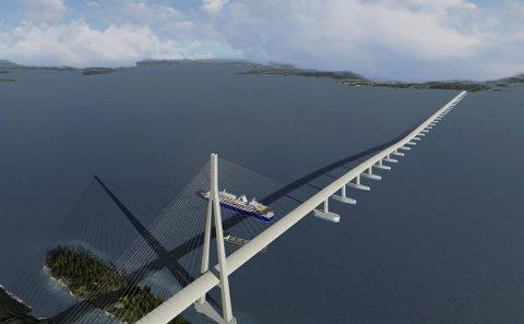 Vegdirektoratet foreslår at regjeringen prioriterer å bygge bro over Bjørnafjorden til nesten 40 milliarder.
