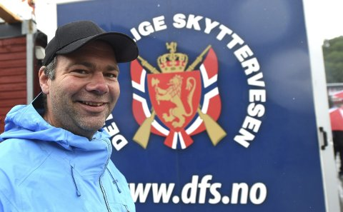 GLEDER SEG: Lørdag morgen skal Anders Nygård debutere på Landsskytterstevnet.alle foto: OLE JOHN HOSTVEDT