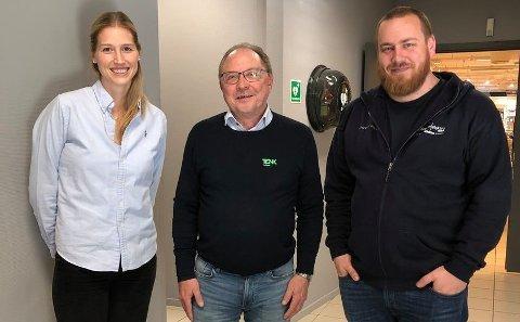 Kathrine Skjerpan, Arne H. Reiersen, Niilo Nissinen.