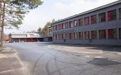 SENDT HJEM: Seks elever ved Byremo ungdomsskole ble sendt hjem etter å ha brutt smittevernreglene da skolen gjenåpnet onsdag.
