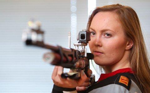 Krapfoss-skytter Malin Westerheim nådde ikke finalen på 10 meter luftrifle under EM.