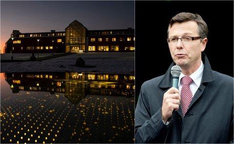 Universitetet i Tromsø og Dag Rune Olsen.