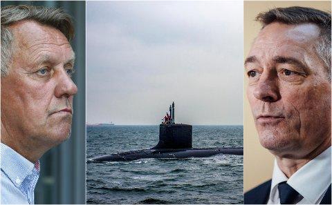 Tromsø-ordfører Gunnar Wilhelmsen og forsvarsminister Frank Bakke-Jensen møttes for å diskutere ubåter. Ordføreren visste han var inhabil i saken.