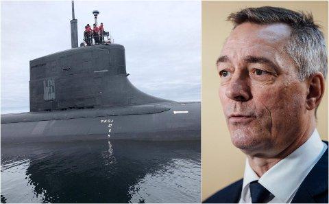 LAND I SIKTE: Snart ankommer amerikanske atomubåter Tromsø. Forsvarsminister Frank Bakke-Jensen møter lokalbefolkningen i Tromsø og omegn for å svare på ubåtspørsmål.