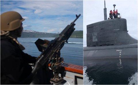 TERRORFARE: Ankomster av amerikanske atomubåter til Tromsø utgjør en ikke ubetydelig terrorfare.
