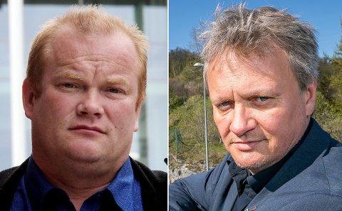 VENN: Bjørn Inge MO (Ap) og Ivar B. Prestbakmo (Sp) trenger bare en venn til.