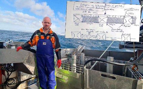 MULTITASKER: Tom Vegar Kiil fra Rotsund i Nordreisa er sjarkfisker, SV-politiker, leder i Norges Kystfiskarlag - og nå oppfinner.
