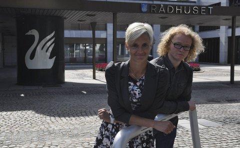 Engasjement: Tone Lise Kvernlien og Trym Sivesindtajet er samfunnsengasjerte og vil jobbe for dem som trenger det mest.Foto: Kristin Stavik Moshagen