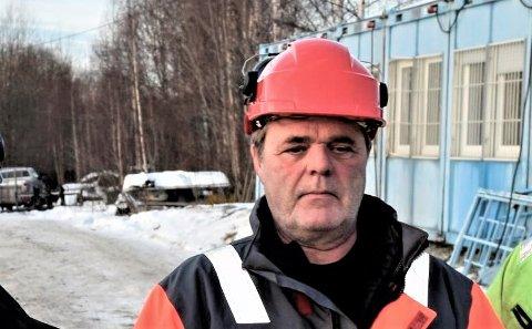 STENGER: Byggleder Johannes Sletten i Statens vegvesen bekrefter at uønskede hendelser gjør at fylkesveg 247 stenges fra mandag 6. mai.